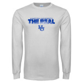 White Long Sleeve T Shirt-The Real HU