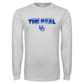 White Long Sleeve T Shirt-The Real HU