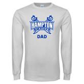 White Long Sleeve T Shirt-Dad