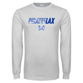 White Long Sleeve T Shirt-LAX Design