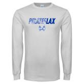 White Long Sleeve T Shirt-LAX Design
