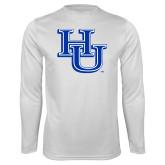 Syntrel Performance White Longsleeve Shirt-HU