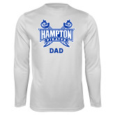Syntrel Performance White Longsleeve Shirt-Dad