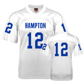 Replica White Adult Football Jersey-#12