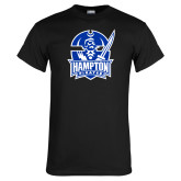 Black T Shirt-Hampton Pirates