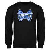 Black Fleece Crew-Hampton Pirates Swords