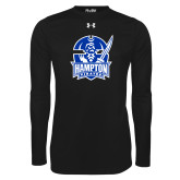 Under Armour Black Long Sleeve Tech Tee-Hampton Pirates