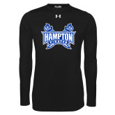 Under Armour Black Long Sleeve Tech Tee-Hampton Pirates Swords