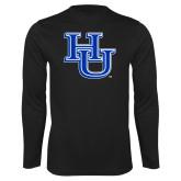 Syntrel Performance Black Longsleeve Shirt-HU