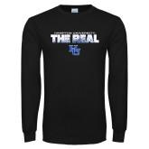 Black Long Sleeve TShirt-The Real HU