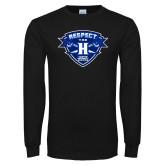 Black Long Sleeve TShirt-Respect The H