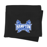 Black Sweatshirt Blanket-Hampton Pirates Swords