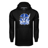 Under Armour Black Performance Sweats Team Hoodie-Hampton Pirates