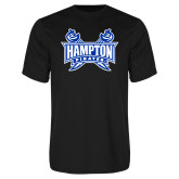 Syntrel Performance Black Tee-Hampton Pirates Swords