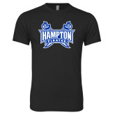 Next Level Vintage Black Tri Blend Crew-Hampton Pirates Swords