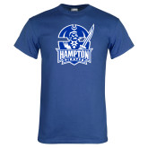 Royal T Shirt-Hampton Pirates