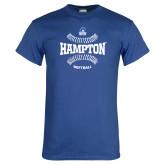Royal T Shirt-Softball Seams Design