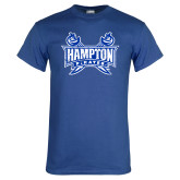 Royal T Shirt-Hampton Pirates Swords Distressed