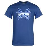 Royal T Shirt-Hampton Pirates Swords Distressed