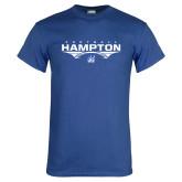 Royal T Shirt-Football Geometric Design