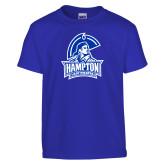 Youth Royal T Shirt-Hampton Lady Pirates