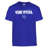 Youth Royal T Shirt-The Real HU