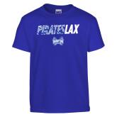 Youth Royal T Shirt-LAX Design