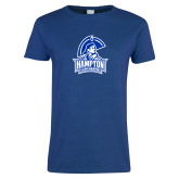 Ladies Royal T Shirt-Hampton Lady Pirates