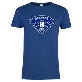 Ladies Royal T Shirt-Respect The H