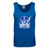 Royal Tank Top-Hampton Pirates