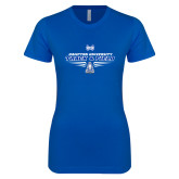 Next Level Ladies SoftStyle Junior Fitted Royal Tee-Track and Field Shoe Design