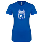 Next Level Ladies SoftStyle Junior Fitted Royal Tee-Hampton Sailing Championship Finalist