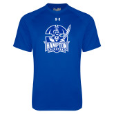 Under Armour Royal Tech Tee-Hampton Pirates