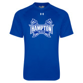 Under Armour Royal Tech Tee-Track & Field