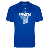 Under Armour Royal Tech Tee-Basketball Net Design