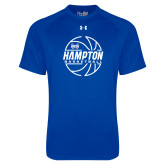 Under Armour Royal Tech Tee-Basketball Ball Design