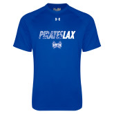 Under Armour Royal Tech Tee-LAX Design