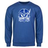 Royal Fleece Crew-Hampton Pirates