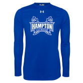 Under Armour Royal Long Sleeve Tech Tee-Lacrosse