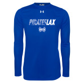 Under Armour Royal Long Sleeve Tech Tee-LAX Design