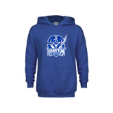 Youth Royal Fleece Hoodie-Hampton Pirates