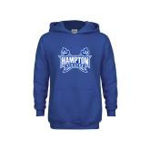 Youth Royal Fleece Hoodie-Hampton Pirates Swords