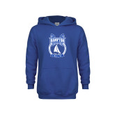 Youth Royal Fleece Hoodie-Hampton Sailing Championship Finalist