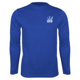 Syntrel Performance Royal Longsleeve Shirt-Hampton Pirates