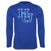 Syntrel Performance Royal Longsleeve Shirt-HU