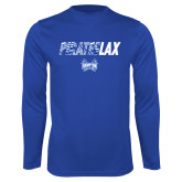 Syntrel Performance Royal Longsleeve Shirt-LAX Design