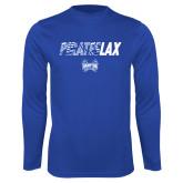 Syntrel Performance Royal Longsleeve Shirt-LAX Design