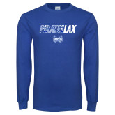 Royal Long Sleeve T Shirt-LAX Design