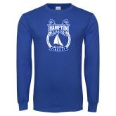 Royal Long Sleeve T Shirt-Hampton Sailing Championship Finalist