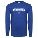 Royal Long Sleeve T Shirt-The Real HU